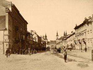 Warszawa, Ulica Długa, Konrad Brandel, ok. 1885