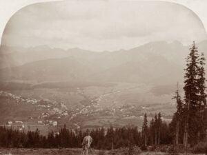 Tatry, Zakopane z Gubałówki, Walery Ejlasz, 1893