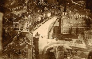 Warszawa, Plac Zamkowy, ok. 1919