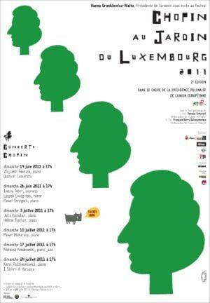 Chopin aux jardin du Luxembourg, Lech Majewski, 2011