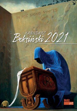Kalendarz Beksiński 2021, A3, wzór 6