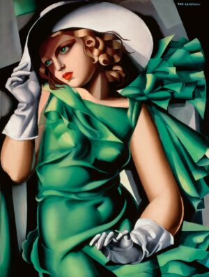 Tamara de Łempicka, Lady with Gloves, 1930